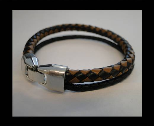 Non Steel Leather Bracelets MLBSP-4