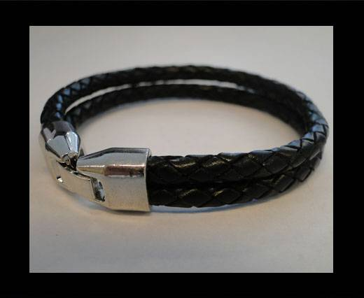 Non Steel Leather Bracelets MLBSP-6