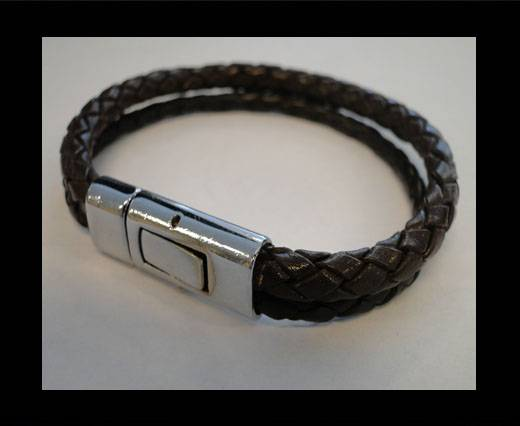 Non Steel Leather Bracelets MLBSP-9