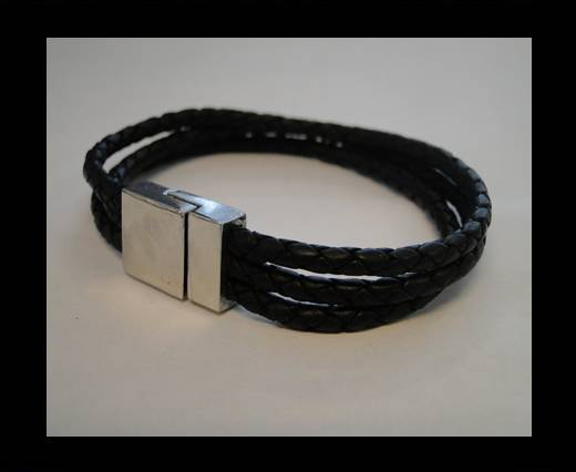 Non Steel Leather Bracelets MLBSP-36