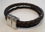 Non Steel Leather Bracelets MLBSP-38