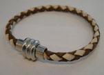 Non Steel Leather Bracelets MLBSP-40