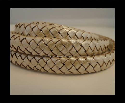 Oval Regaliz braided cords - SE-M-13