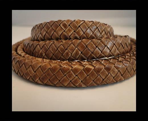 Oval Regaliz braided cords - SE-PB-04