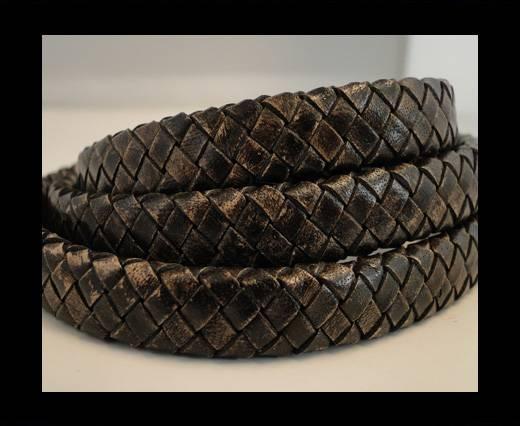 Oval Regaliz braided cords - SE-PB-13