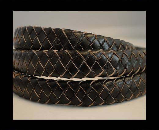 Oval Regaliz braided cords - SE-R-03