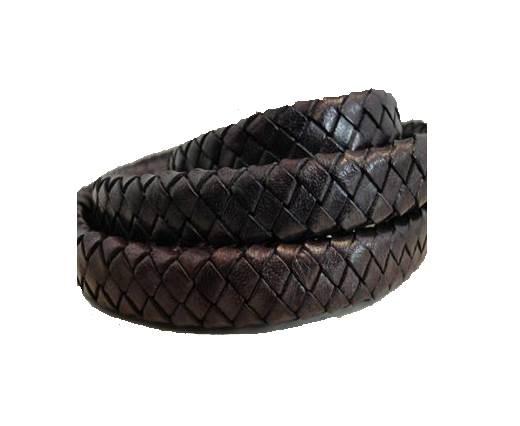 Oval Regaliz braided cords - SE-TD-18