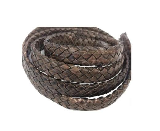 Oval Regaliz braided cords - SE-PB-11