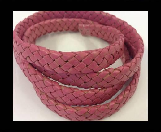 Oval Regaliz braided cords - SE-PB-Pink