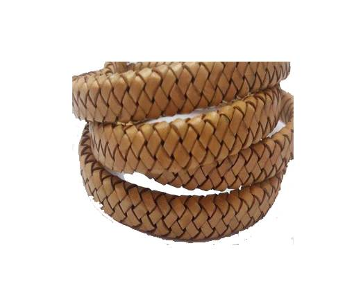 Oval Regaliz braided cords - SE DB 02