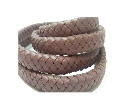 Oval Regaliz braided cords - SE Taupe