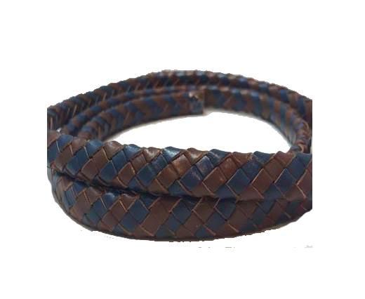 Oval Regaliz braided cords - SE.R.Dark Blue & SE.B.04