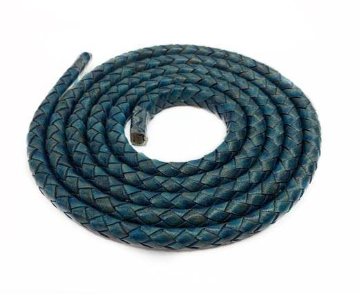 Oval Regaliz braided cords-11*6.3mm- SE-PB-115