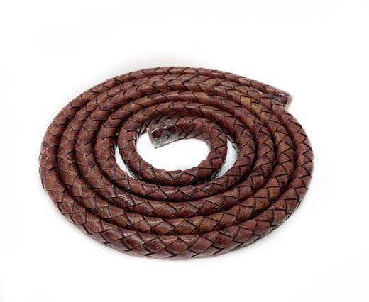 Oval Regaliz braided cords-11*6.3mm- SE-PB-121