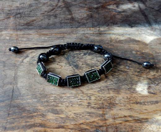 Buy PearlBracelet03 - Black-Green at wholesale prices