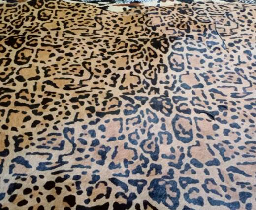 Print 5- Hair-On Cow Hide Leather