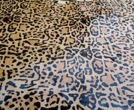 Print 8- Hair-On Cow Hide Leather