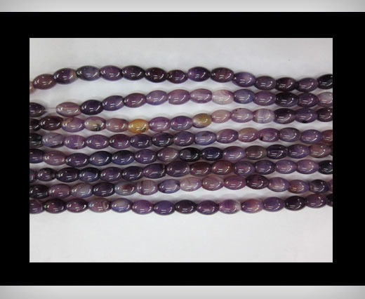 Buy Purple Blue  Agate NS-058 at wholesale prices
