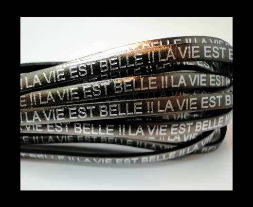 Real Flat Leather-LA VIE EST BELLE - Fucile