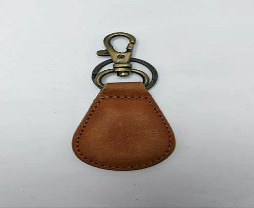 Buy KeyChain-Plain-style1-LIGHT BROWN at wholesale prices