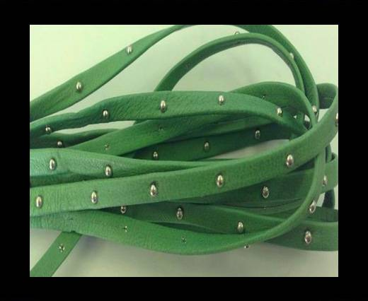 Buy Real Nappa Leather with studs - 5mm - Mint at wholesale prices