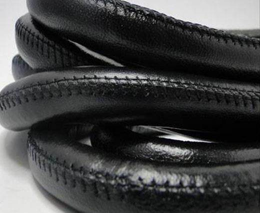 Buy Real Nappa Leather Cords-Black-10mm at wholesale prices