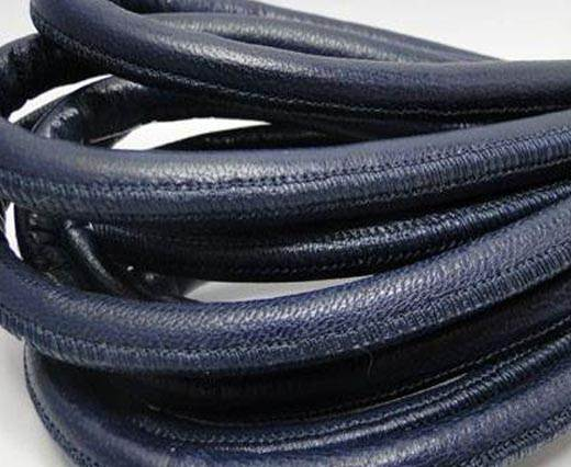 Buy Real Nappa Leather Cords-Blue-10mm at wholesale prices