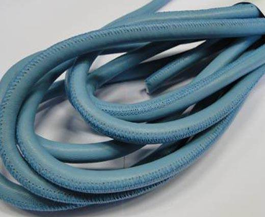 Real Nappa Leather Cords- Turquoise-8mm