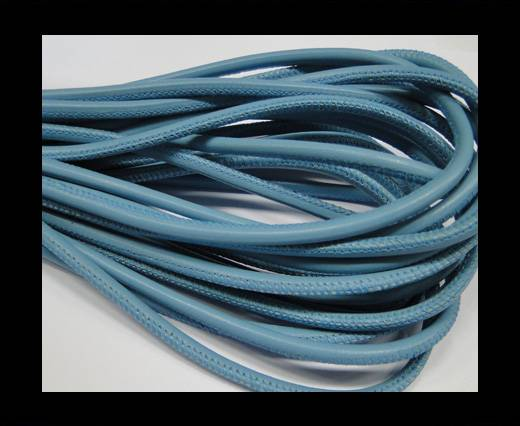 Buy Round stitched nappa leather cord Sky Blue at wholesale prices