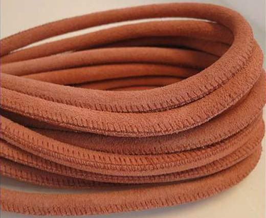Round stitched nappa leather cord Suede Round-Lobster -6mm