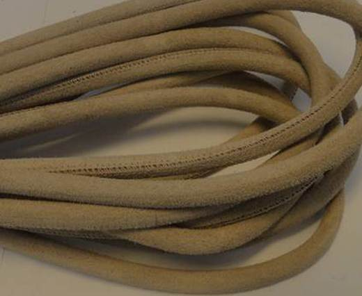 Buy Round stitched nappa leather cord Natura-4mm at wholesale prices