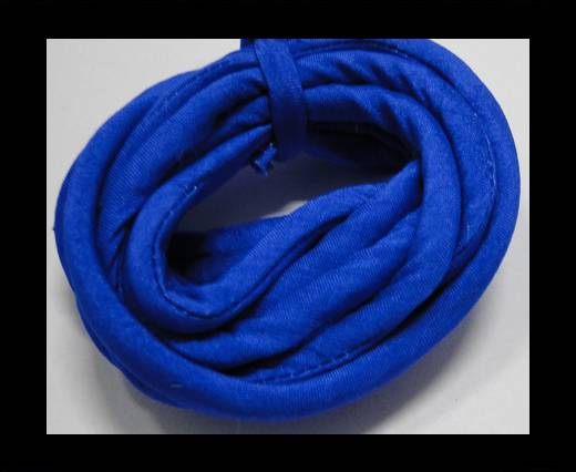 Buy Real silk cords with inserts - 4 mm - Sapphire at wholesale prices