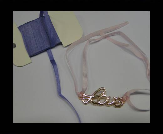 Real Silk Ribbons -A 027-Light Purple - 4mm