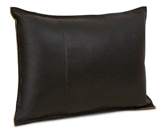 Rectangular Cushion - rust black