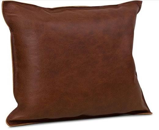 Rectangular Cushion - rust brown