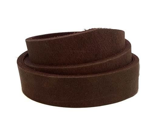 Pull-up Leather-Vetleder-Fettleder-RED-15mm