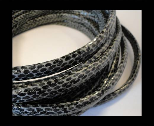 Regaliz-Leather-Snake Style-grey