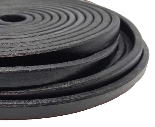 Regaliz Leather Vintage-10mm*6mm-black
