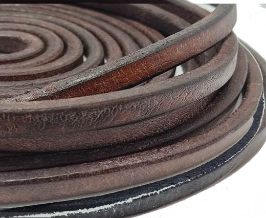 Regaliz Leather Vintage-10mm*6mm-cognec