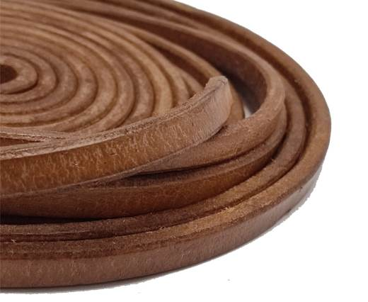 Regaliz Leather Vintage-10mm*6mm-tan