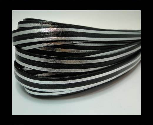 Buy RFL-10MM with stripes on both sides-Black with silver at wholesale prices