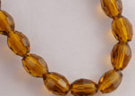 Rice Glass Beads -4mm*6mm-Mokka