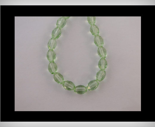 Rice Glass Beads -4mm*6mm-Peridot