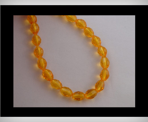 Buy Rice Glass Beads -4mm*6mm-Sun at wholesale prices