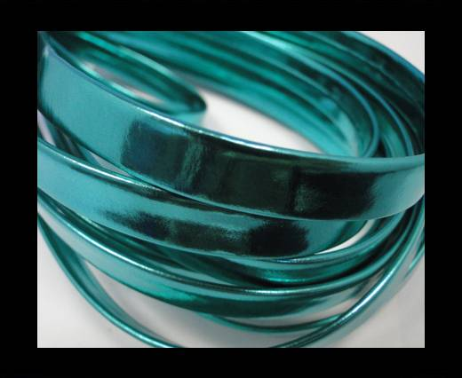 Buy RNL - flat - Metallic Turquoise Green - 10 mm at wholesale prices