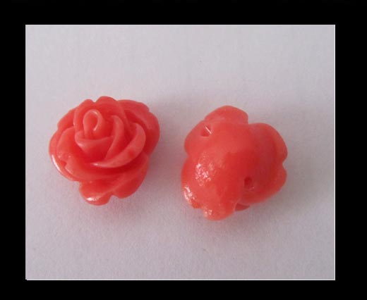 Rose Flower-14mm-Rose