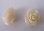 Rose Flower-16mm-Shell