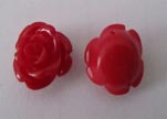 Rose Flower-8mm-Red
