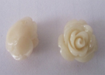 Rose Flower-8mm-Shell