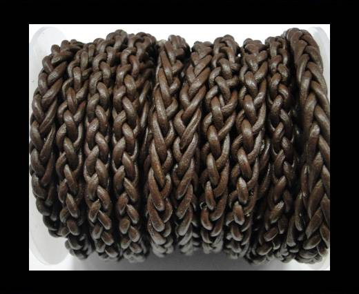 Round Braided Bolo cords - 6mm-SE Coffe